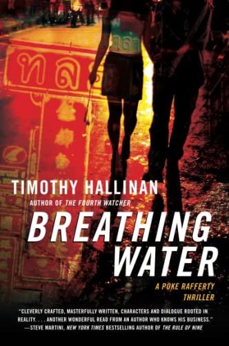 9780061672255: Breathing Water (Poke Rafferty)