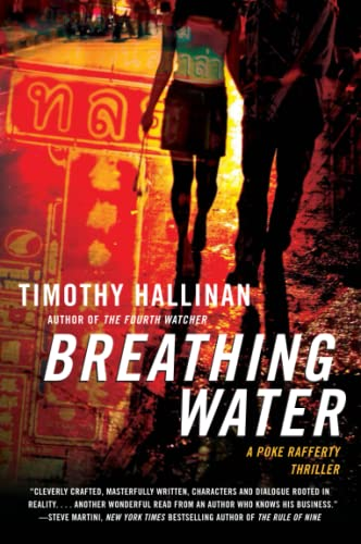9780061672255: Breathing Water (Poke Rafferty Thrillers)