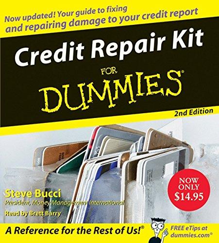9780061672798: Credit Repair Kit for Dummies CD 2nd Edition
