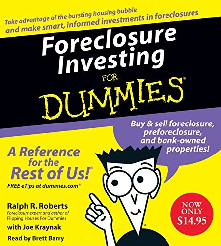 9780061672811: Foreclosure Investing For Dummies CD (For Dummies Series)