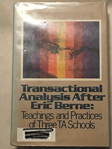 9780061684128: Transactional Analysis After Eric Berne