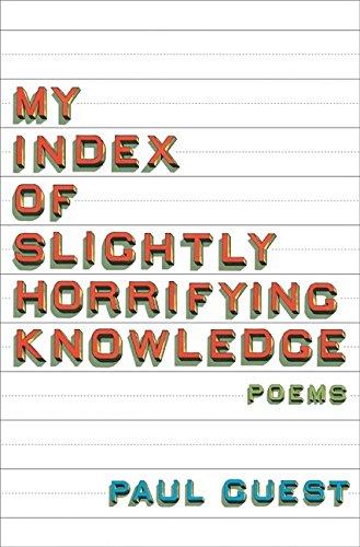 9780061685163: My Index of Slightly Horrifying Knowledge