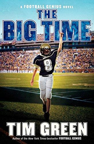9780061686207: The Big Time: A Football Genius Novel