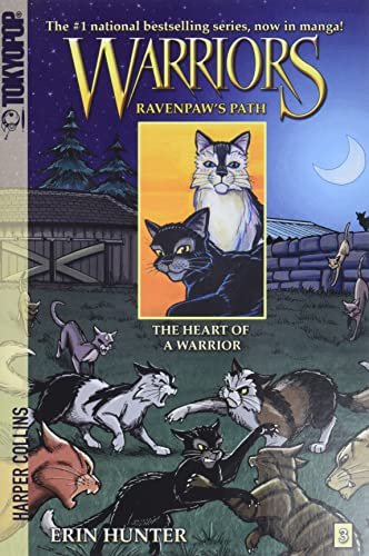 9780061688676: Warriors: Ravenpaw's Path #3: The Heart of a Warrior (Warriors Manga)
