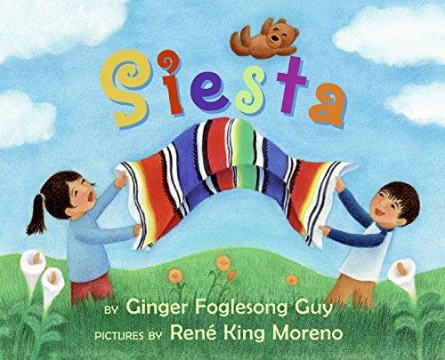 Siesta Board Book (Spanish Edition): Ginger Foglesong Guy