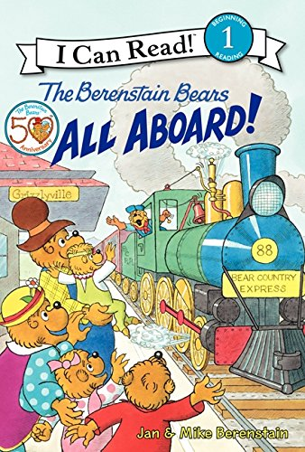 9780061689710: The Berenstain Bears: All Aboard! (I Can Read Level 1)