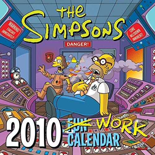 9780061691348: The Simpsons Work Calendar