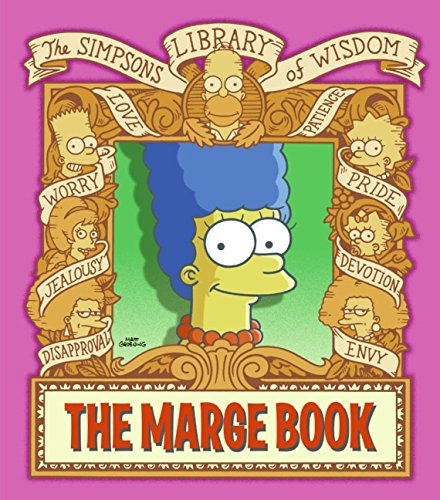 9780061698804: The Marge Book: Simpsons Library of Wisdom