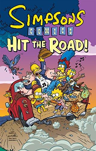 9780061698811: Simpsons Comics Hit the Road! (Simpsons Comic Compilations)