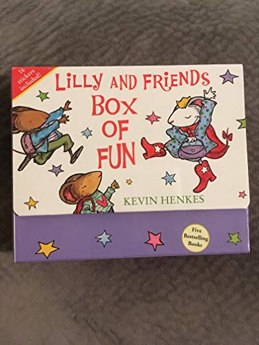 9780061702600: Lilly and Friends Box of Fun (Five Popular Picture Books By Kevin Henkes) (Lilly and Firends)