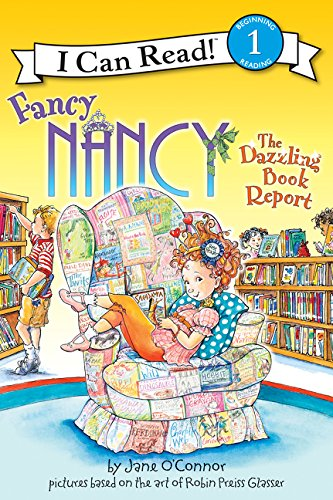 9780061703690: Fancy Nancy: The Dazzling Book Report (I Can Read Book 1)