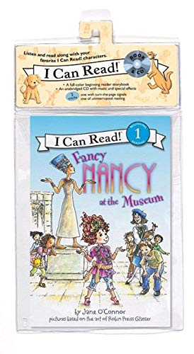 9780061706585: Fancy Nancy at the Museum Book and CD (I Can Read Level 1)