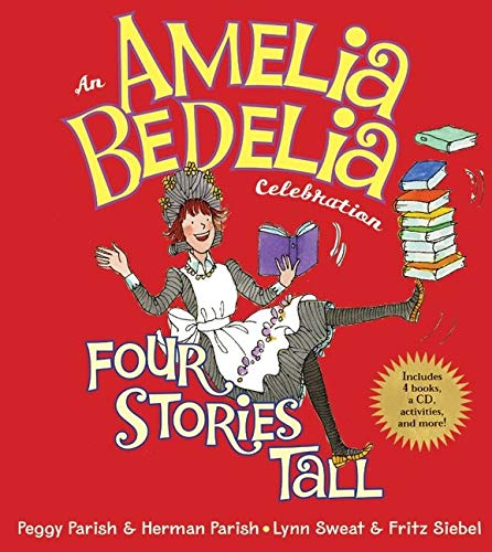 9780061710308: Amelia Bedelia Celebration, An: Four Stories Tall with Audio CD