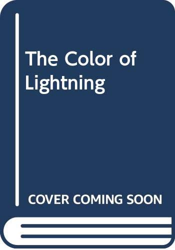 9780061712661: The Color of Lightning CD: A Novel