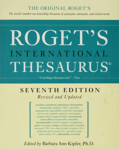 9780061715211: Roget's International Thesaurus, 7th Edition