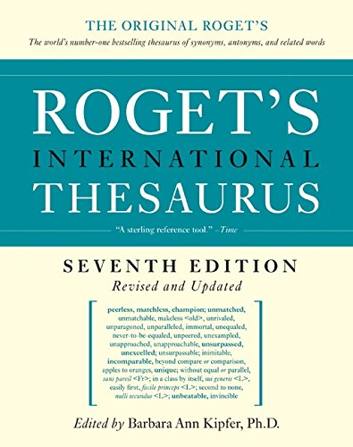 9780061715228: Roget's International Thesaurus, 7th Edition