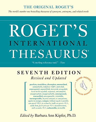 9780061715235: Roget's International Thesaurus, 7e, Thumb indexed (Roget's International Thesaurus Indexed)