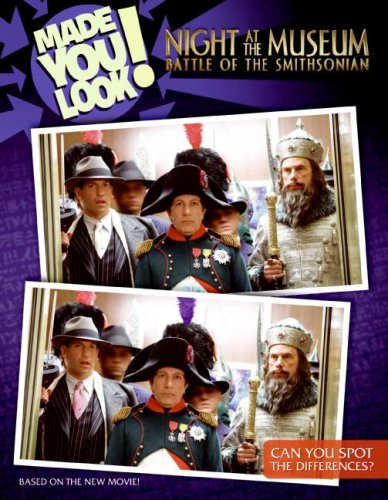 Night at the Museum: Battle of the Smithsonian: Made You Look!: Rosen, Lucy
