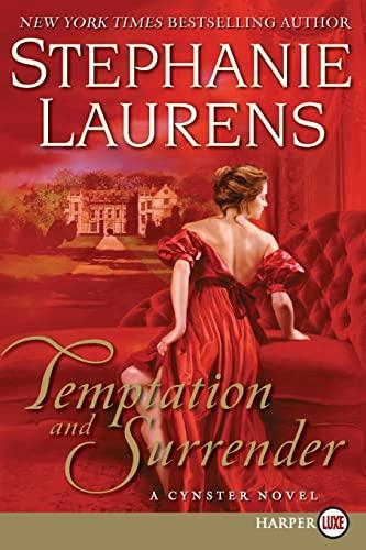 9780061719967: Temptation and Surrender LP: A Cynster Novel (Cynster Novels)