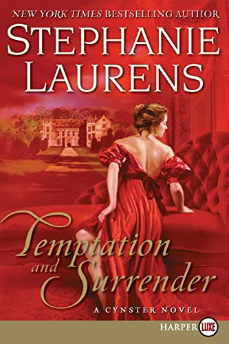 9780061719967: Temptation and Surrender LP: A Cynster Novel (Cynster Novels)