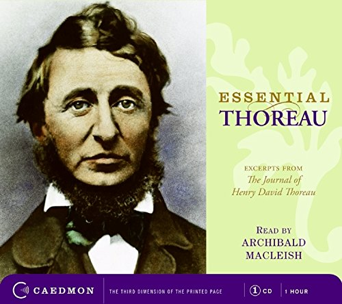 9780061720963: Essential Thoreau CD: Excerpts From the Journal of Henry David Thoreau