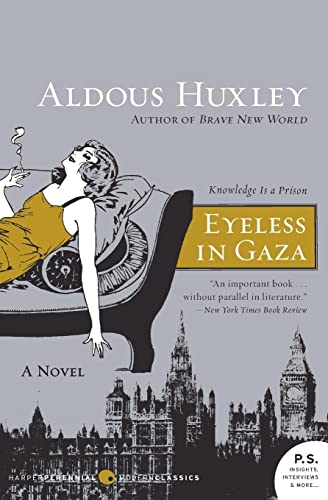 9780061724893: Eyeless in Gaza: A Novel