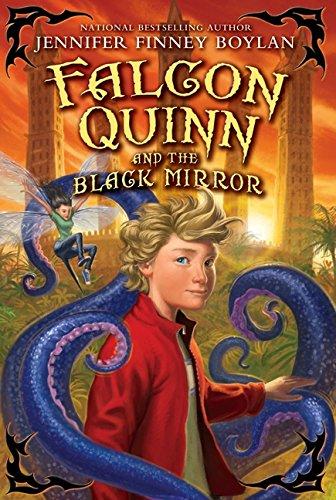 9780061728341: Falcon Quinn and the Black Mirror