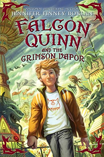 9780061728358: Falcon Quinn and the Crimson Vapor