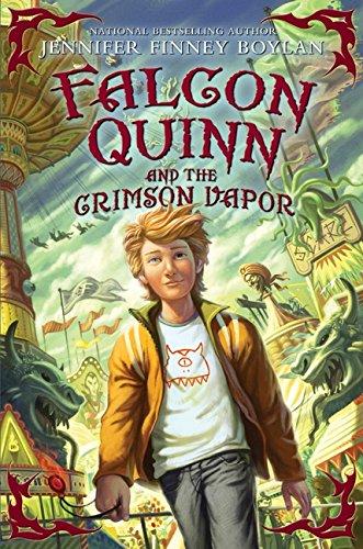 9780061728358: Falcon Quinn and the Crimson Vapor