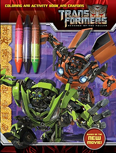 9780061729676: Transformers: Revenge of The Fallen: Coloring and Activity Book and Crayons