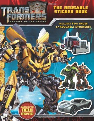 Transformers: Revenge of The Fallen: The Reusable Sticker Book: Rosen, Lucy