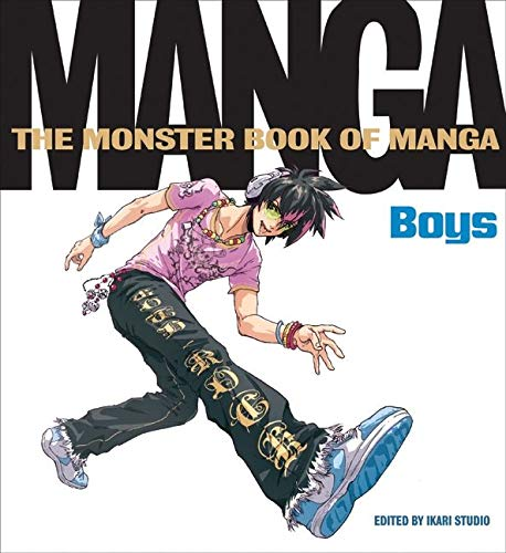 9780061732980: Monster Book of Manga: Boys