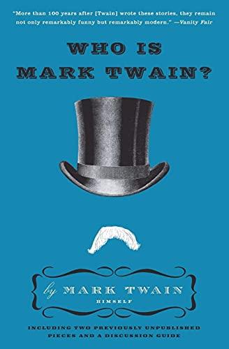 9780061735011: Who Is Mark Twain?