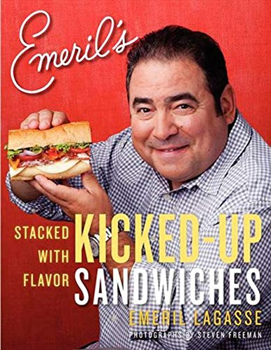 9780061742972: Emeril's Kicked-Up Sandwiches: Stacked with Flavor