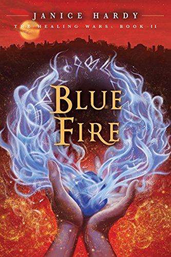 9780061747410: Blue Fire (Healing Wars)