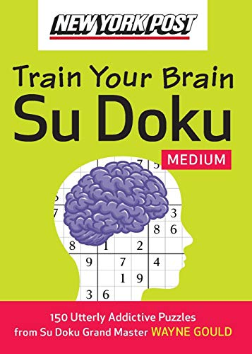 9780061762772: New York Post Train Your Brain Su Doku: Medium