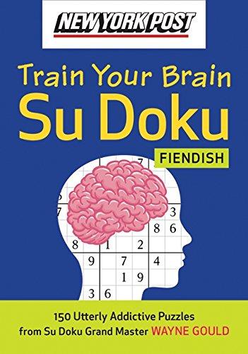 9780061762789: New York Post Train Your Brain Su Doku: Fiendish