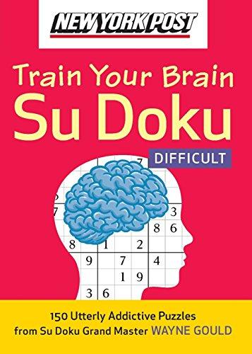 9780061762796: New York Post Train Your Brain Su Doku: Difficult