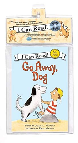 9780061765025: Go Away, Dog Book and CD (My First I Can Read)