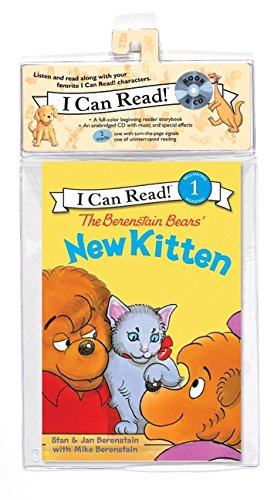 9780061765049: The Berenstain Bears' New Kitten Book and CD (I Can Read Level 1)