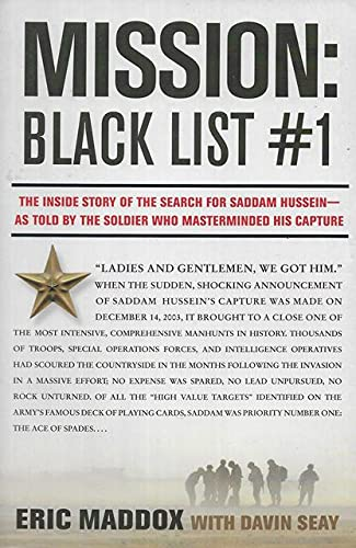 9780061765148: Mission: Black List #1 - The Inside story of the Search for Saddam Hussein