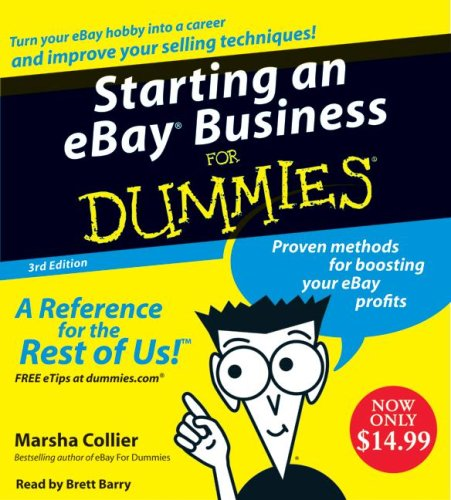 9780061765902: Starting an E-Bay Business for Dummies