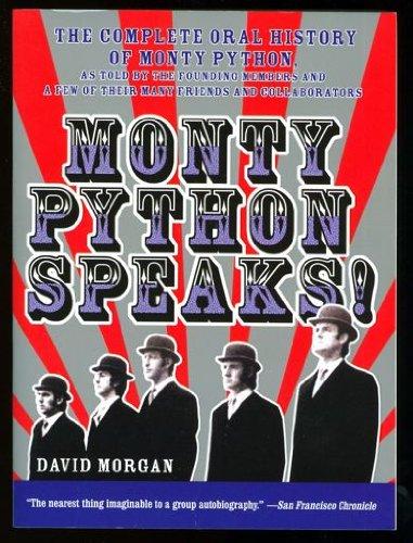 9780061768217: Monty Python Speaks !