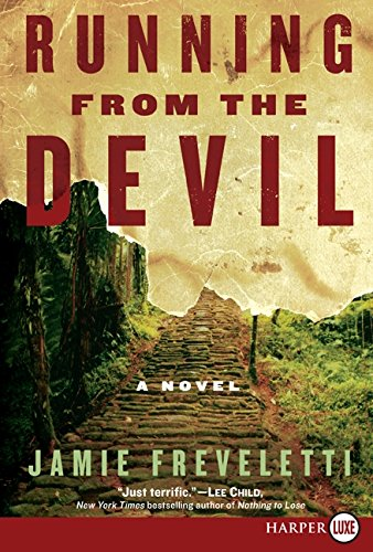 9780061774690: Running from the Devil LP: A Novel