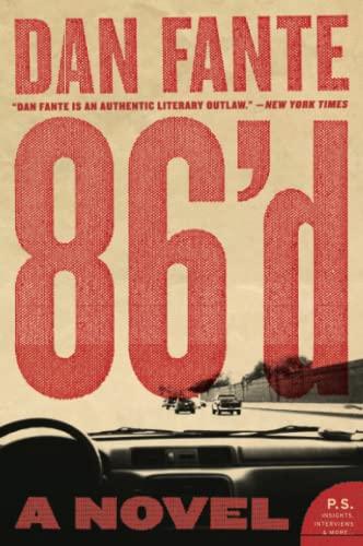 9780061779220: 86'd: A Novel
