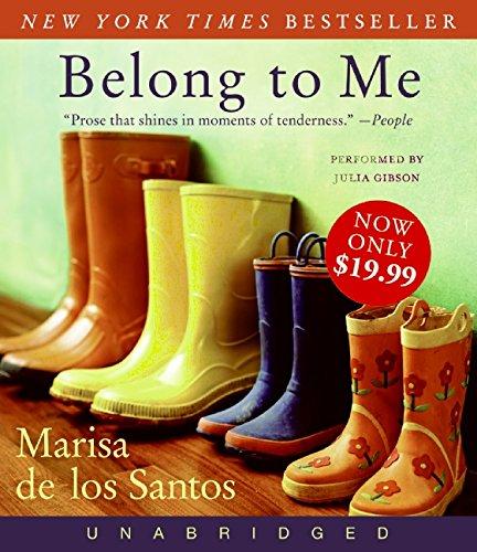 9780061780226: Belong to Me Low Price CD: A Novel