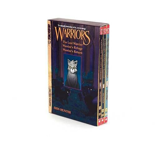 9780061782282: Warriors Manga Box Set: Graystripe's Adventure