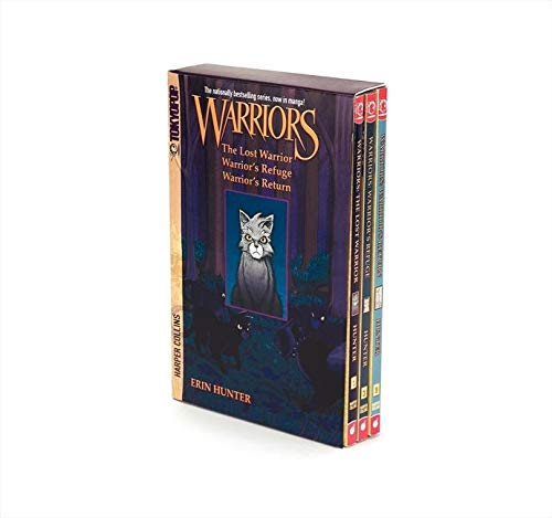 9780061782282: Warriors Manga Box Set: Graystripe's Adventure (Warriors Manga: Graystripe's Trilogy)
