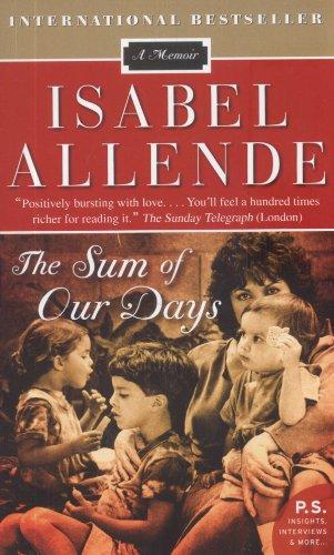 9780061782329: The Sum of Our Days: A Memoir