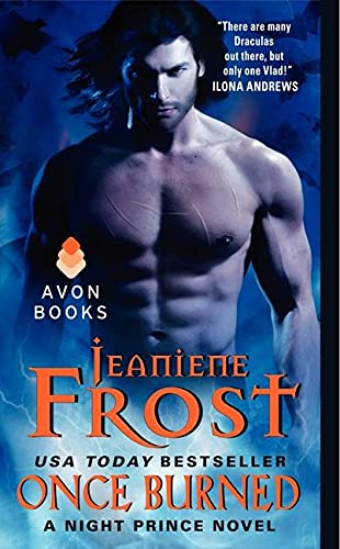9780061783203: Once Burned (Night Prince, Book 1)